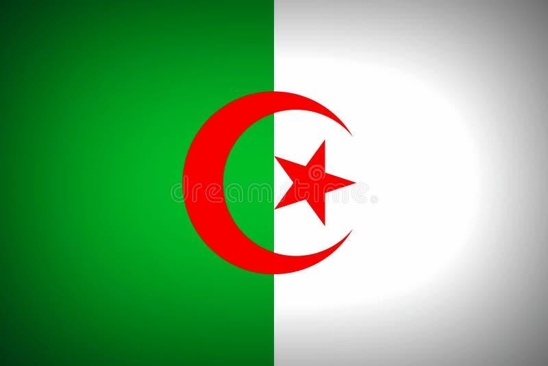 Medborgare sjunker av Algeriet vektor illustrationer