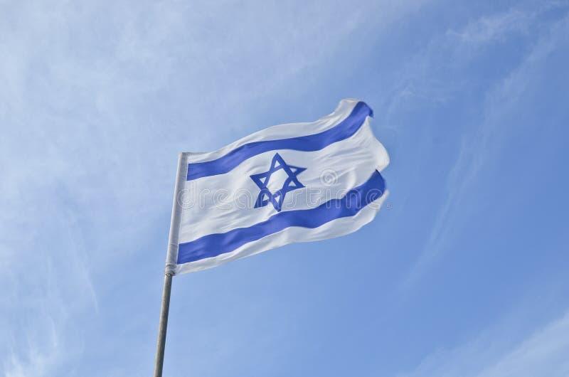 Medborgare sjunker av Israel utomhus royaltyfria foton