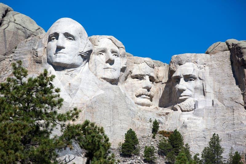 Medborgareminnesmärke för Mt Rushmore arkivfoto