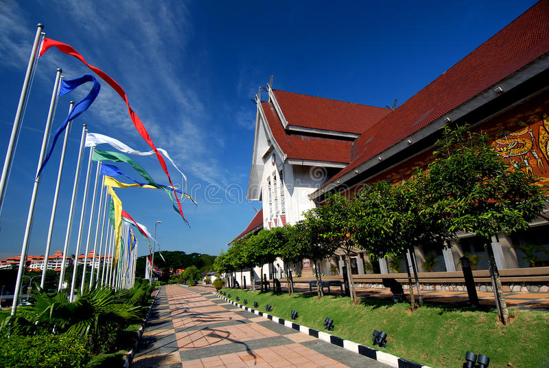 Medborgaremuseum Kuala Lumpur arkivbild