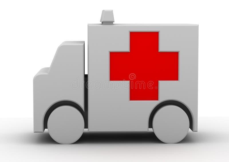 Medcar lizenzfreie abbildung
