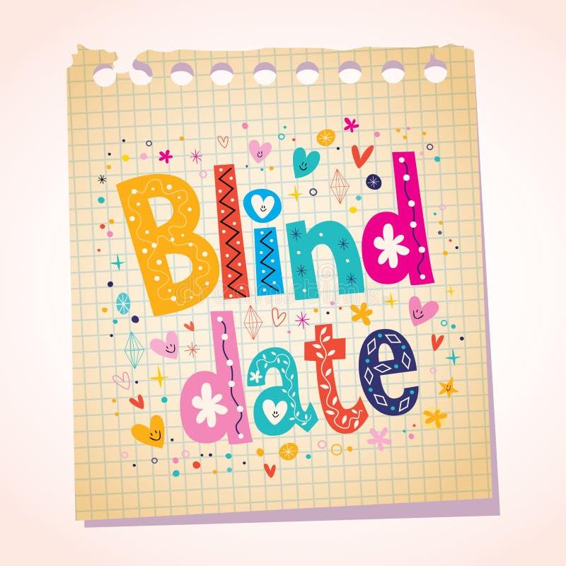 Meddelande för blindträffnotepadpapper stock illustrationer
