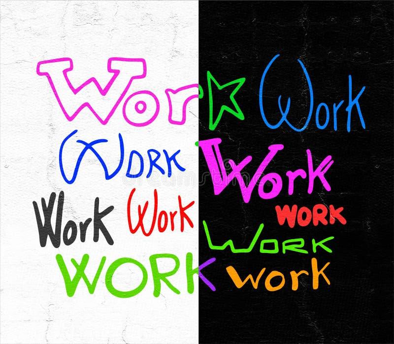 Meddelande för fantasirikt arbete vektor illustrationer