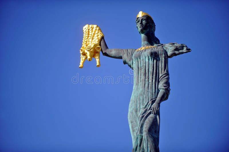 Medea-Statue in Batumi stockfotografie