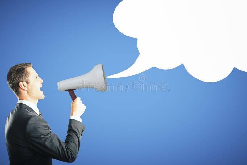 Mededeling en luidsprekersconcept royalty-vrije stock foto's