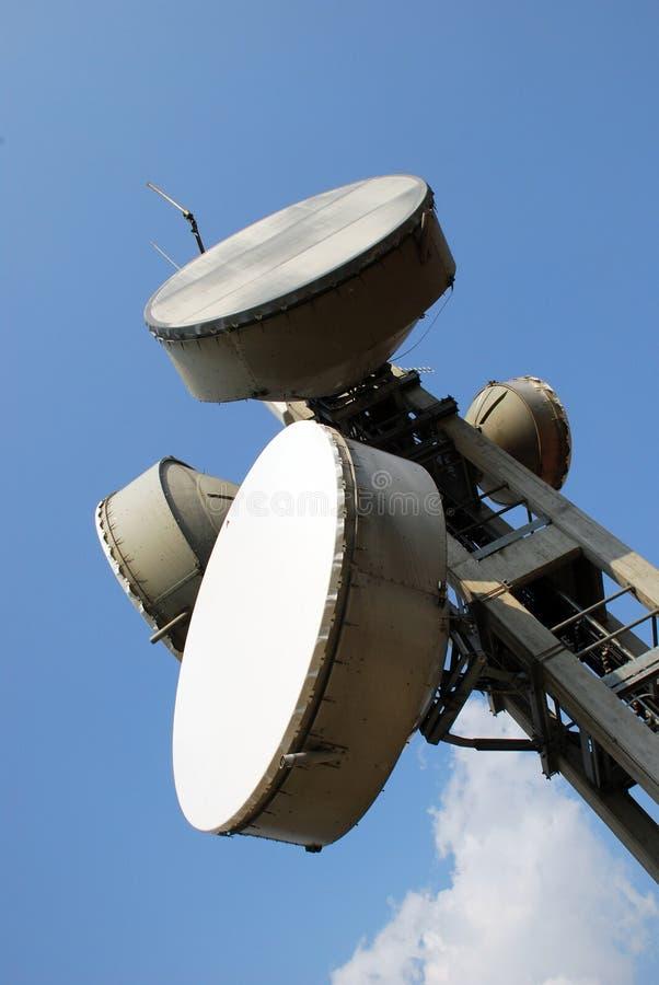 Mededeling Gsm, de toren van UMTS e Hsdpa stock afbeeldingen