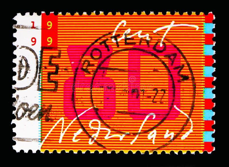 Mededeling: handschrift en gestileerde monitor, Tien voor Brieven royalty-vrije stock foto's