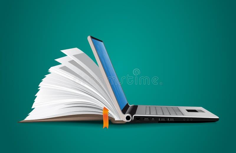 IT Mededeling - kennisbank vector illustratie