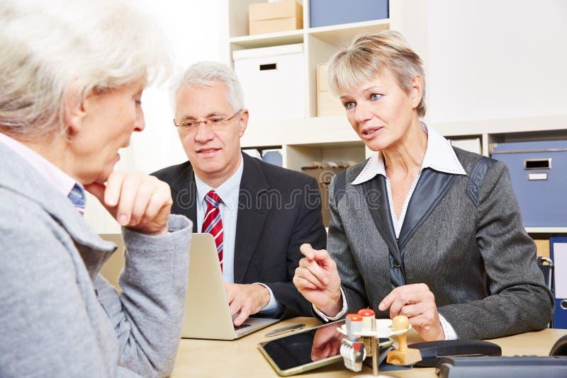 Mededeling over financiële kwesties royalty-vrije stock foto