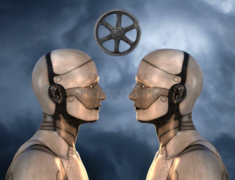 Mededeling, Technologie, Informatie, het Leren, Onderwijs royalty-vrije illustratie