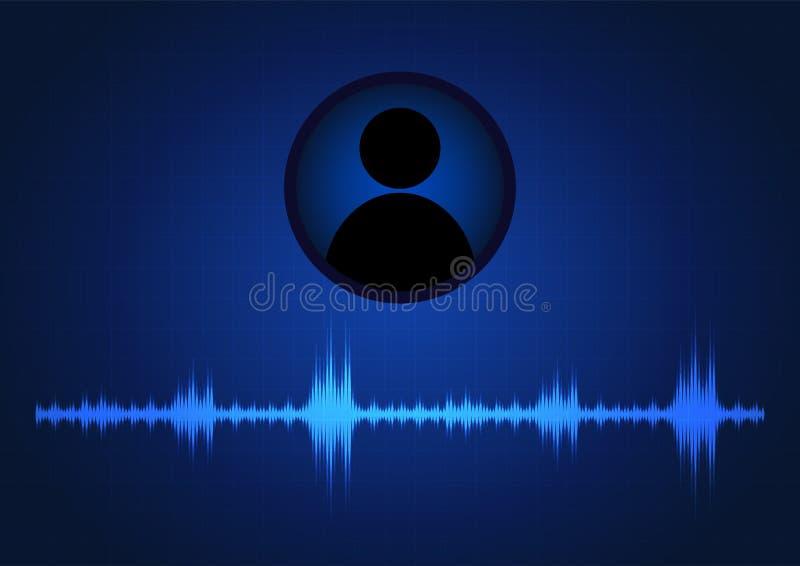 Mededeling van audioformaten royalty-vrije illustratie
