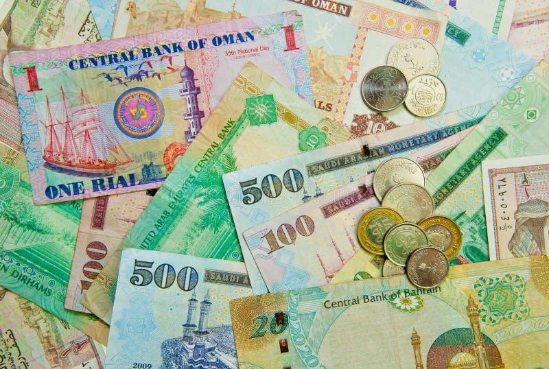 Medel - östlig valuta arkivbilder