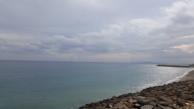 Medelhav fnidek Marocko royaltyfri fotografi