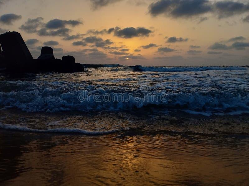 Medelhavet av Alexandria, Egypten fotografering för bildbyråer