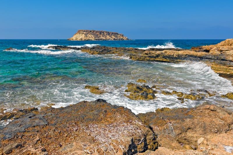 Medelhavs- ö Geronisos fotografering för bildbyråer