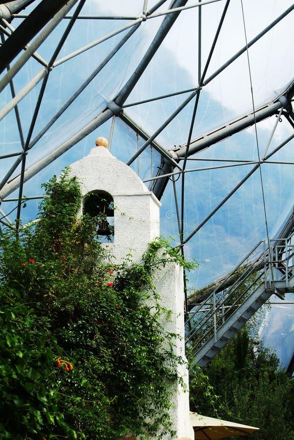 Medelhavs- Biome för Eden projekt royaltyfri foto