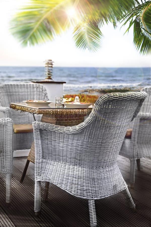 Medelhavs- frukost royaltyfri fotografi