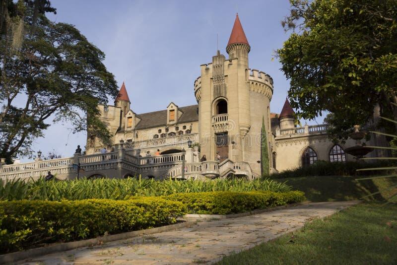 Medellin, Antioquia, Colômbia - museu El Castillo foto de stock