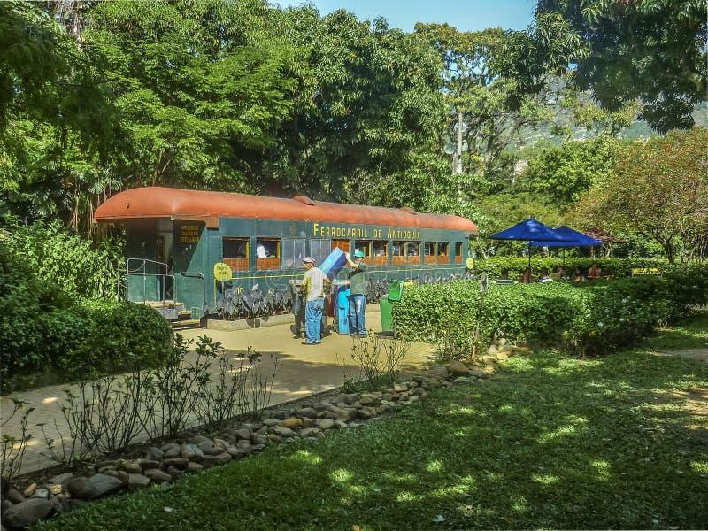 Medellin botanisk trädgård royaltyfri bild