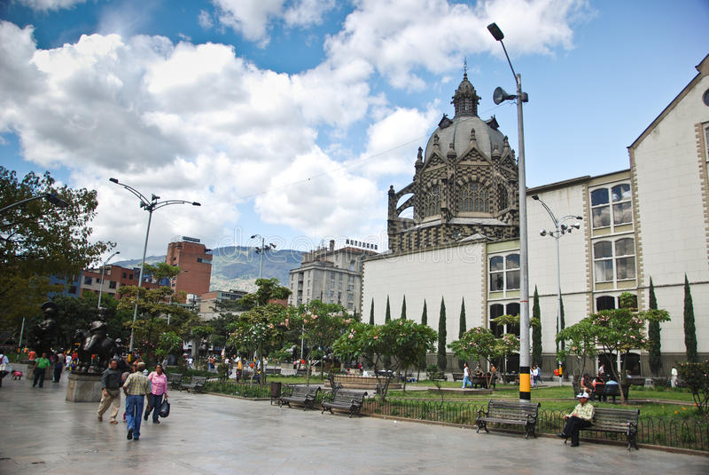 Medellin, Colômbia imagem de stock