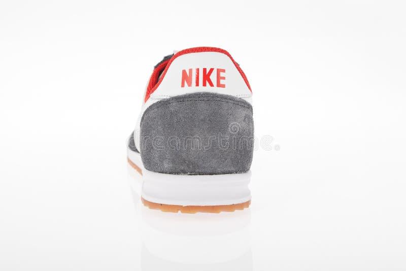 Medellin, Colômbia abril 06, 2019: Sapatas dos esportes de Nike imagem de stock