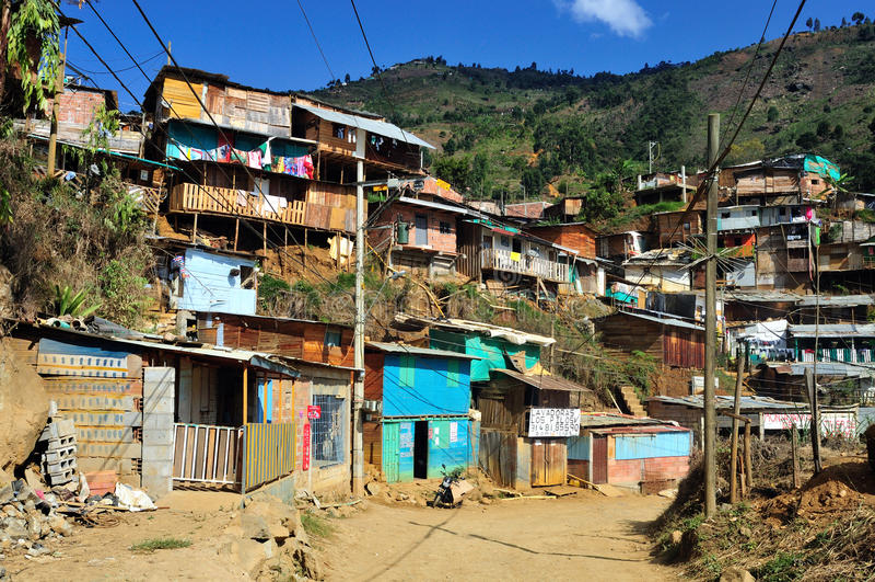Medellin - Colombia arkivbilder