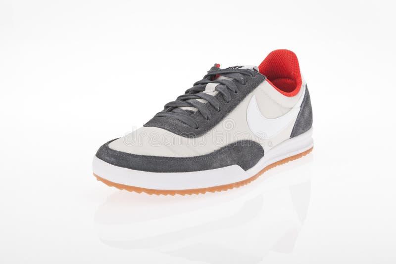 Medellin, Colombia Abril 06, 2019: Zapatos de los deportes de Nike foto de archivo libre de regalías