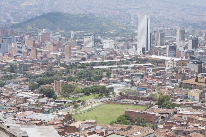 Medellin, Colombie - 23 mars 2015 Vue de la ville Medellin est la deuxième plus grand ville en Colombie avec une population de 2  photo libre de droits