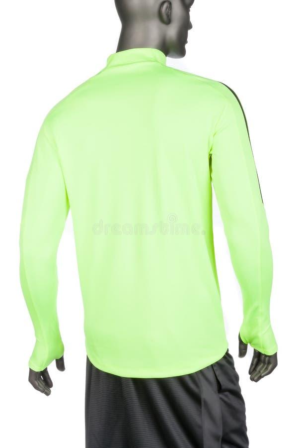 Medellin, Kolumbien - 19. Juni 2019 Nike Long Sleeve Sports Lycra-T-Shirt, Foto auf weißem Hintergrund lizenzfreies stockfoto