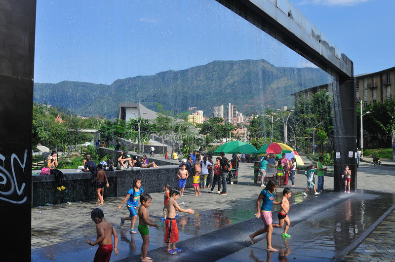 Medellin - la Colombia immagine stock libera da diritti