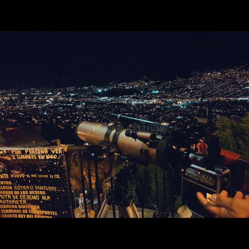 Medellin Nigth fotos de stock