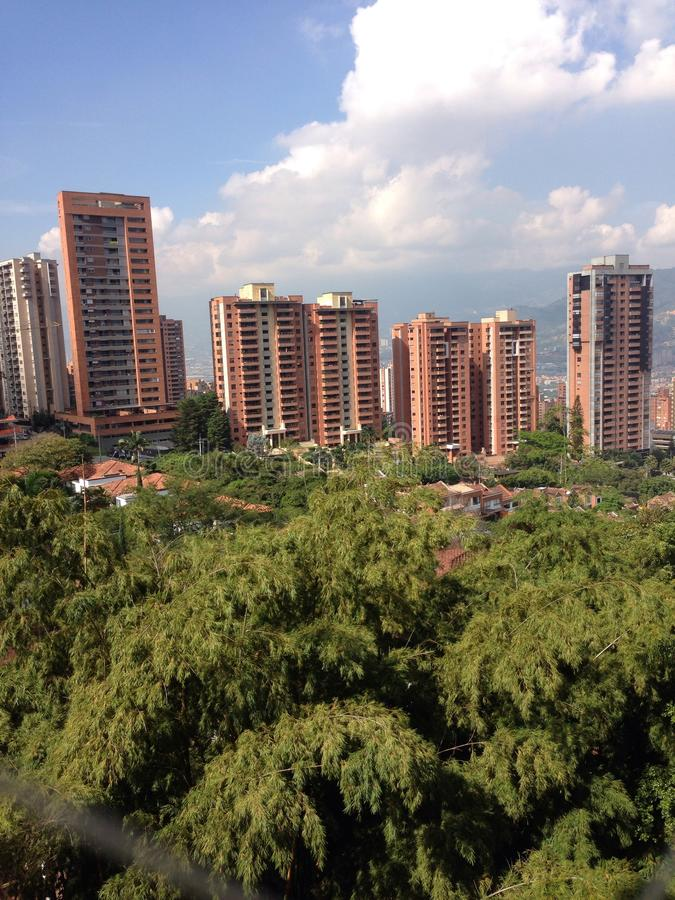Medellin royalty free stock images