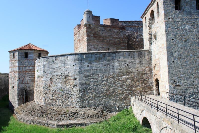 medeltida bulgarian fästning arkivfoto