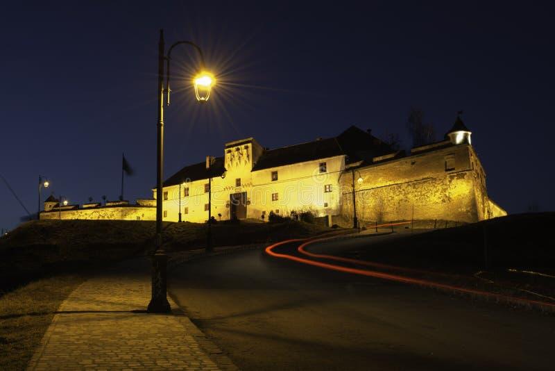 medeltida citadel royaltyfri bild