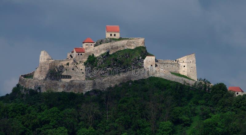 Medeltida fästning av Rupea royaltyfri fotografi