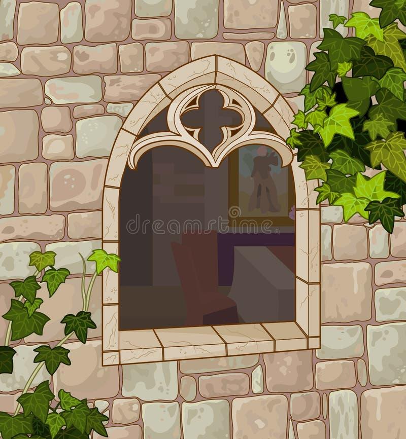 medeltida fönster