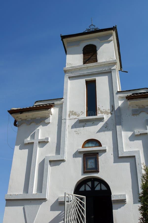 Medeltida Glozhene kloster av St George, Bulgarien royaltyfri foto