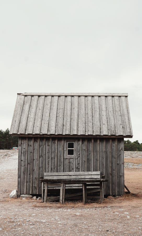 Medeltida hus Gotland 2018 fotografering för bildbyråer