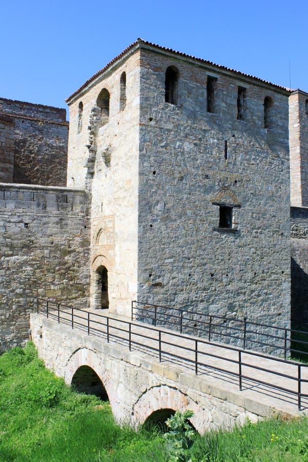 medeltida ingångsfästning arkivbilder
