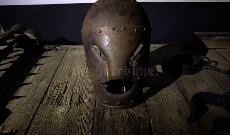 Medeltida instrument av tortyr royaltyfri foto