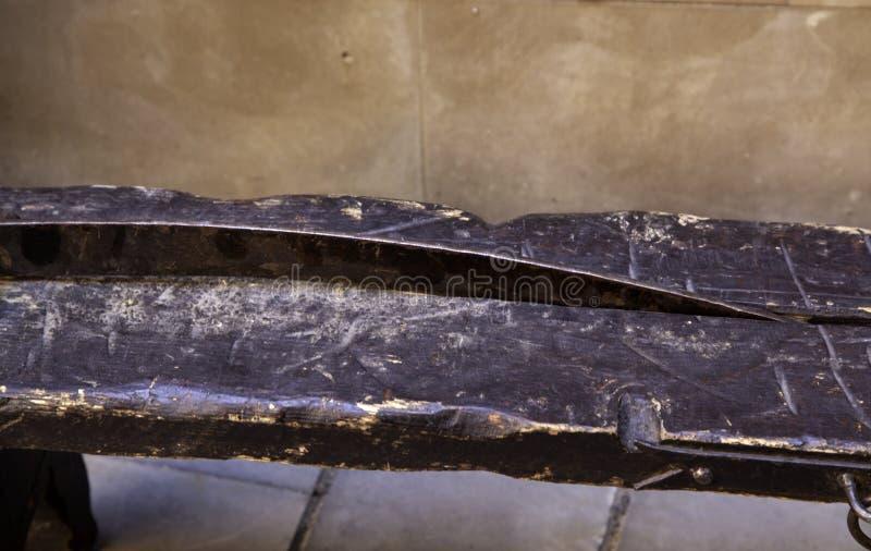 Medeltida instrument av tortyr royaltyfria bilder