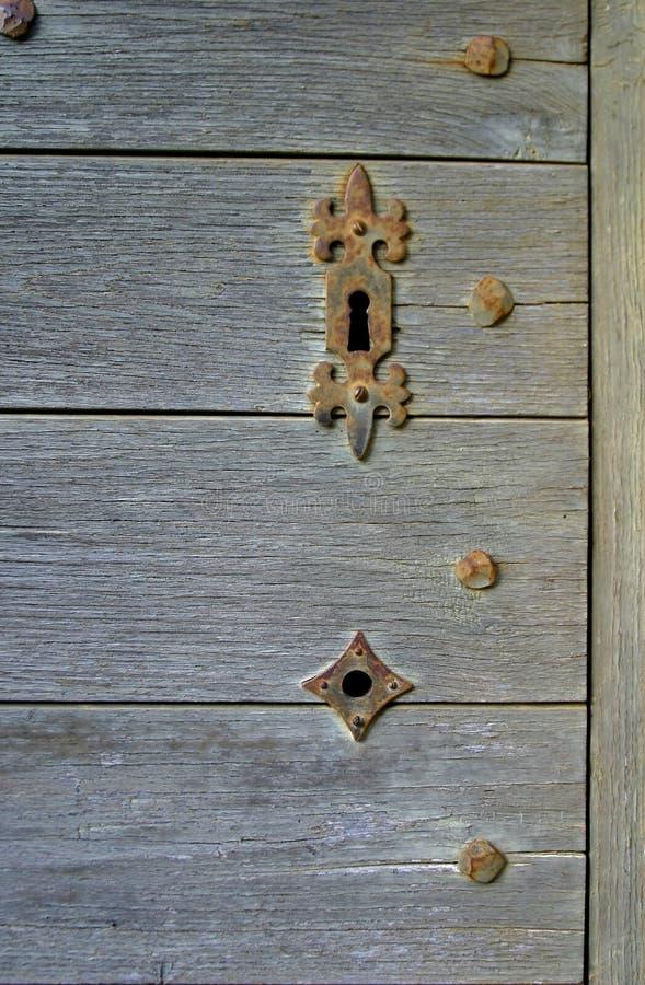 medeltida keyhole royaltyfria foton