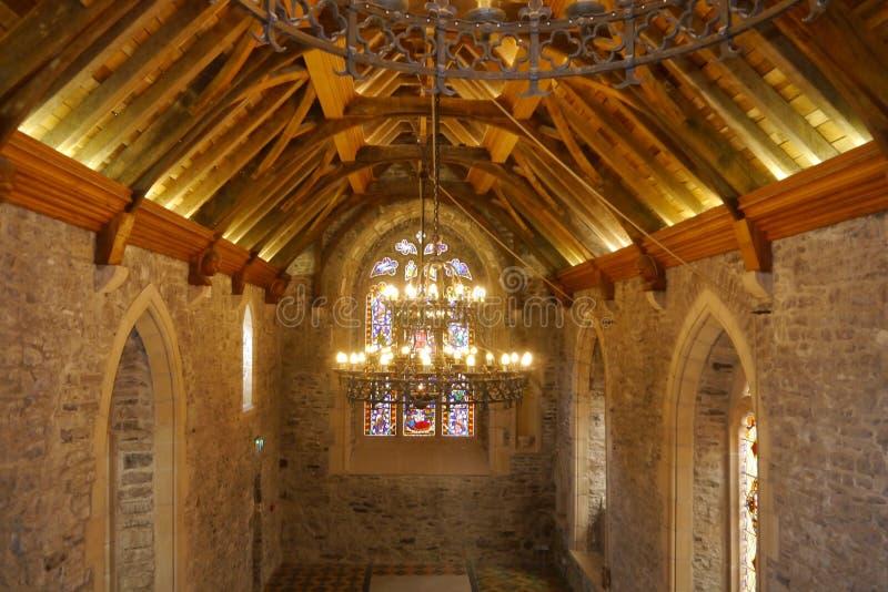Medeltida kyrkliga Dublin Ireland royaltyfria foton