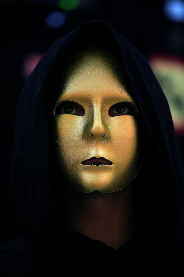 medeltida maskering royaltyfria foton