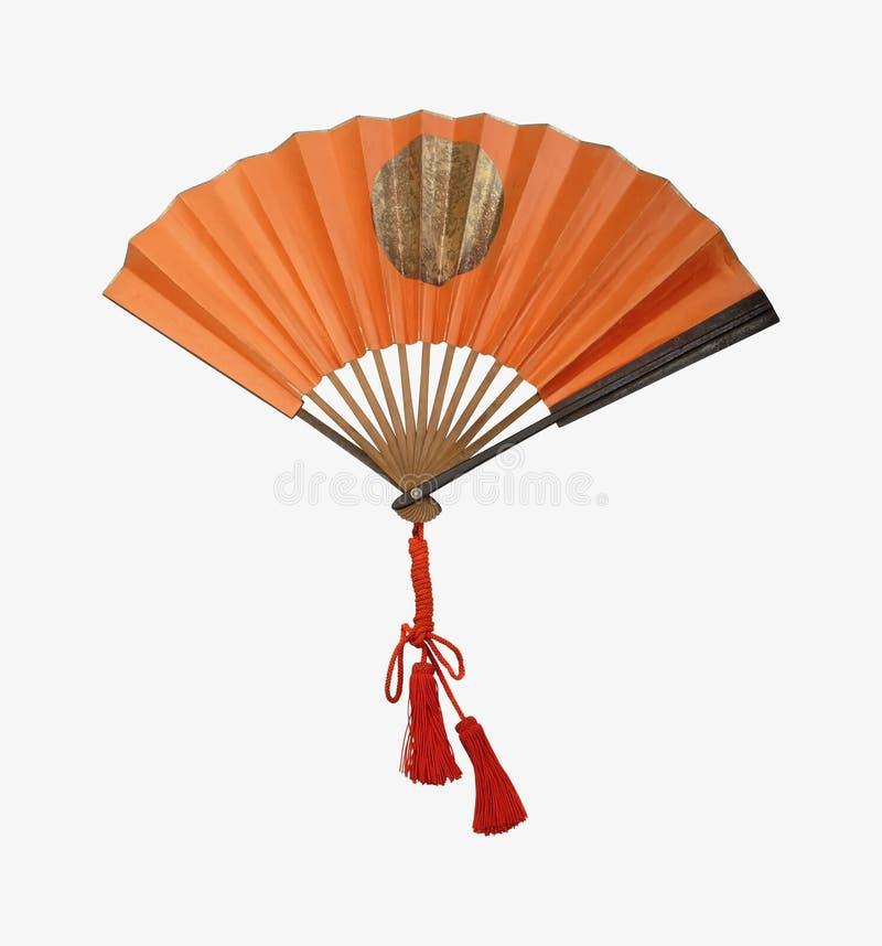 medeltida militär perfekt samuruai för ventilator royaltyfri bild