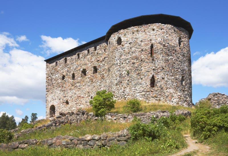 medeltida raasepori för slott royaltyfri foto