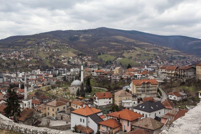 Medeltida stärkt byggnad i Travnik 16 royaltyfria bilder