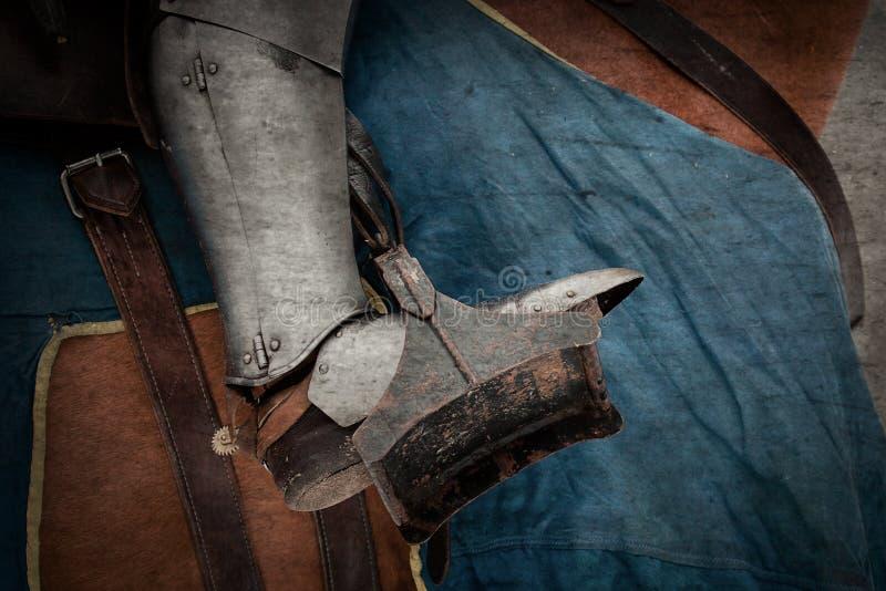medeltida stående för riddare fotografering för bildbyråer