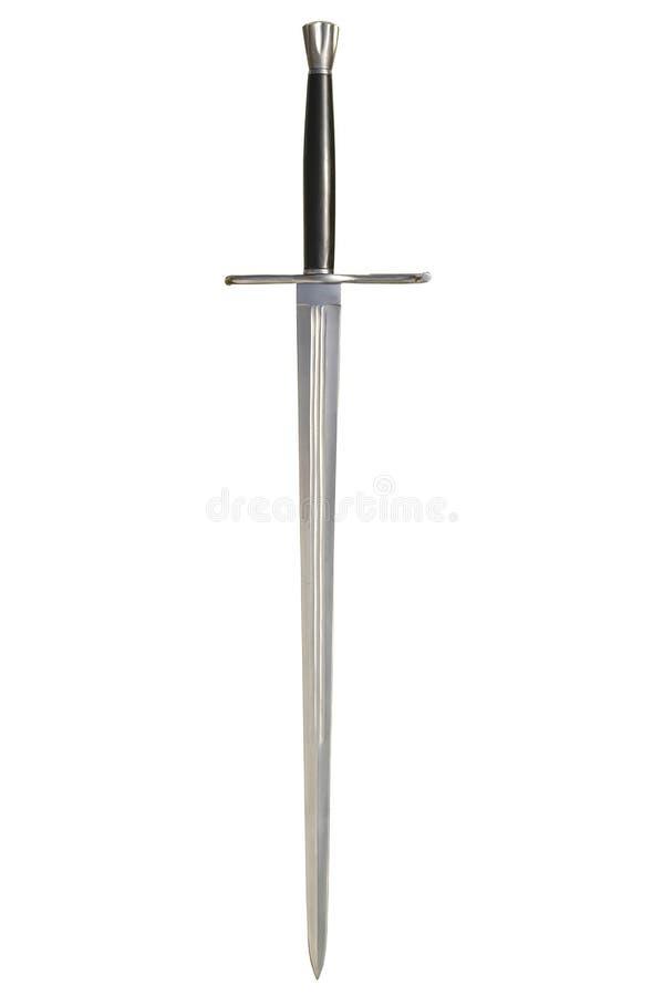 medeltida svärd royaltyfri foto