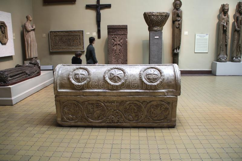 Medeltida tomb arkivbilder